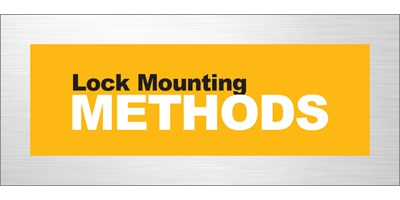 Lock Mounting Methods