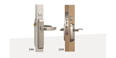 Dual Force® 2190, 2290 Series Interconnected Deadbolt/Deadlatch