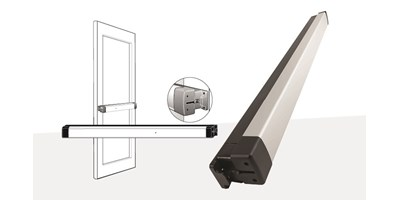 8800 Series (Life-Safety) Narrow Stile Rim Exit Device
